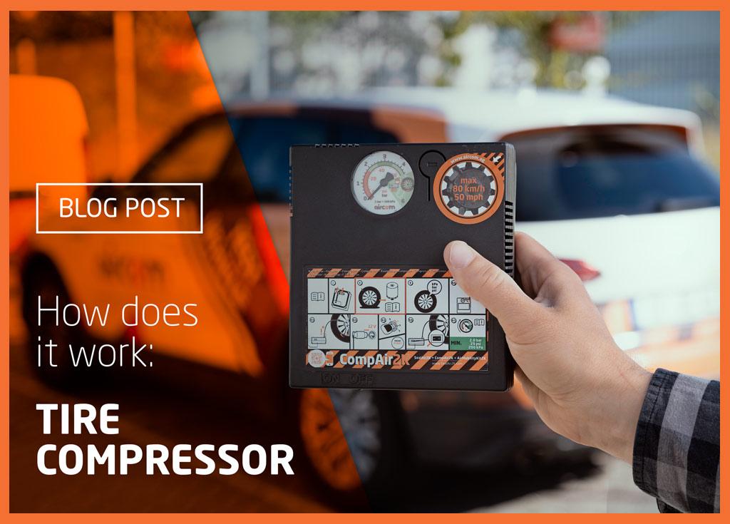 Jak działa kompresor do opon?